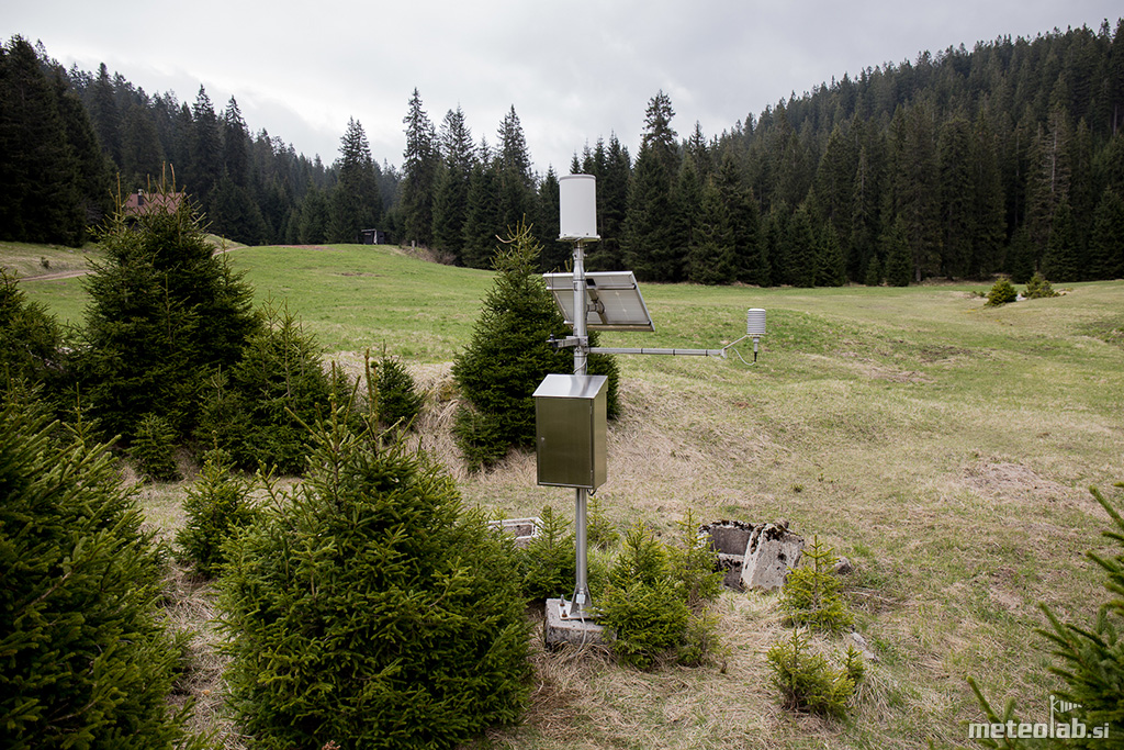 Padavinska postaja V. Pade�nica